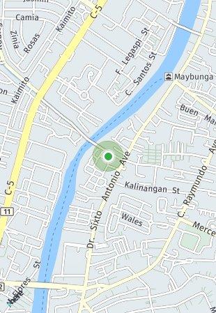 Peta lokasi Kasara Urban Resort Residences