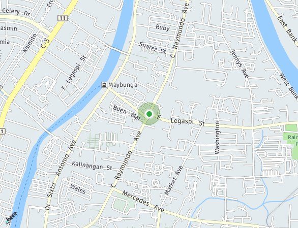 Peta lokasi Hampton Gardens