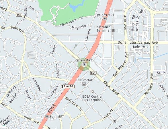 Peta lokasi Zitan at The Greenfield District
