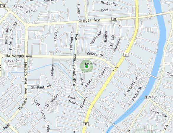 Peta lokasi Shine Residences