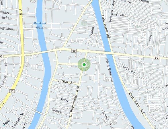 Peta lokasi Mayfield Park Residences