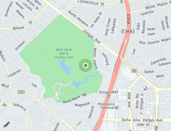 Peta lokasi One Shangri-La Place