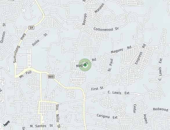 Peta lokasi The Forest Residences Midori