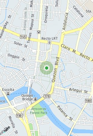 Peta lokasi G.Puyat