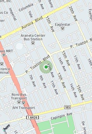 Peta lokasi Aurora Escalades