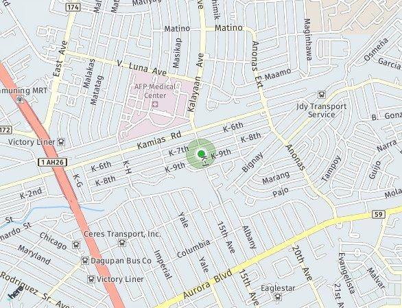 Peta lokasi Ellery Place