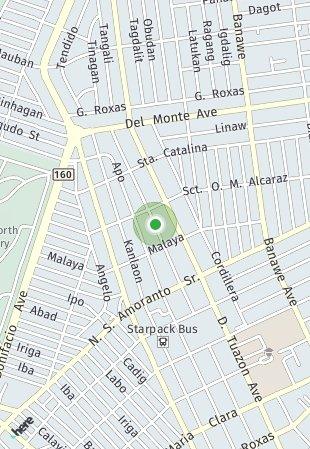 Peta lokasi Cuenco