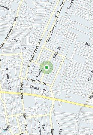Peta lokasi Tropicana Garden City