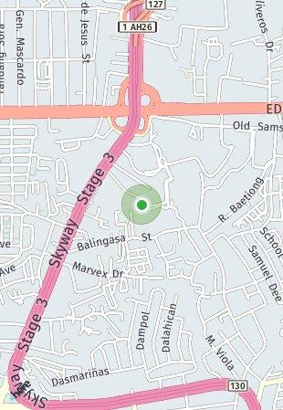 Peta lokasi Kaingin