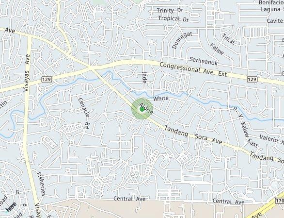 Peta lokasi 33 Harmony