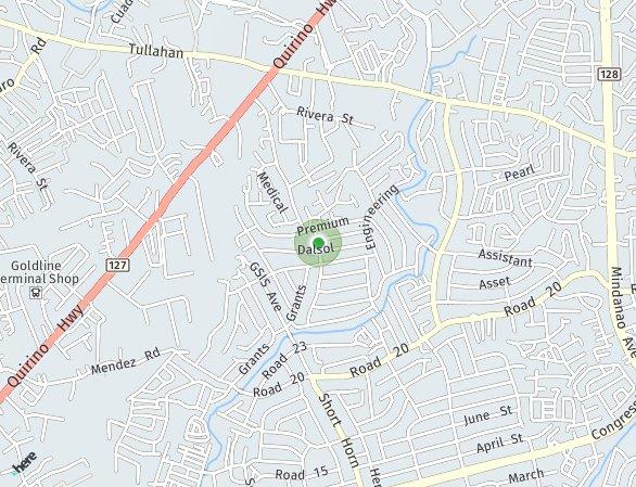 Peta lokasi Martelino