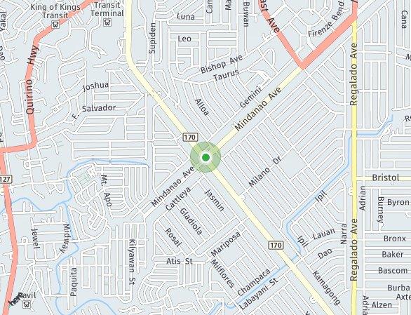 Peta lokasi Hacienda Balai