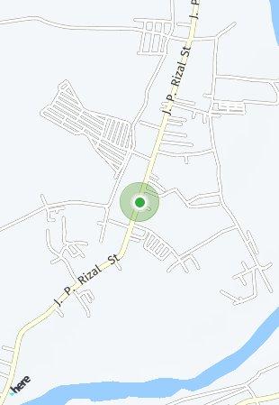 Peta lokasi Casa Buena de Pulilan