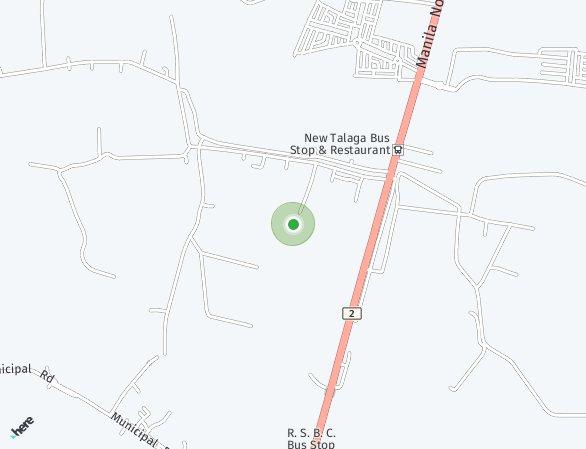 Peta lokasi Ajoya Capas