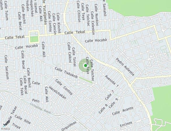 Peta lokasi Teya 406
