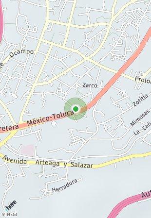 Peta lokasi Vita Homes Santa Fe