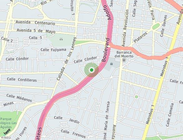 Peta lokasi Icon San Ángel