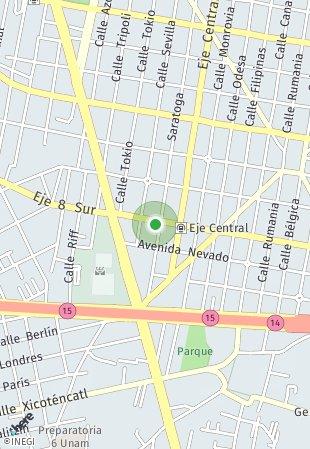 Peta lokasi Único