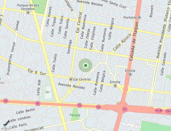 Peta lokasi El Faro Portales