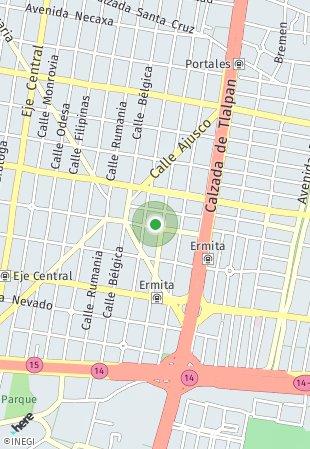 Peta lokasi Repúblicas 73