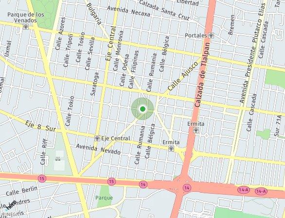 Peta lokasi Liv Repúblicas