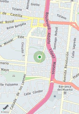 Peta lokasi The Park