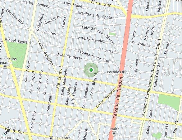 Peta lokasi Victor Hugo 99