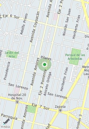 Peta lokasi Tlacoquemecatl 430