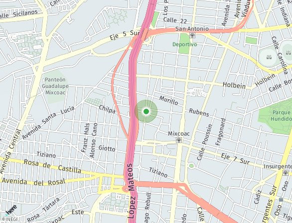 Peta lokasi Casa da Vinci