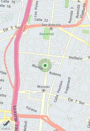 Peta lokasi Albor Mixcoac 793