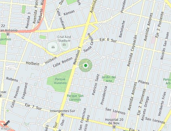 Peta lokasi Alika
