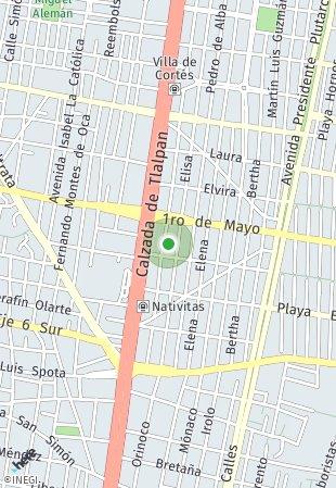 Peta lokasi Luisa 92