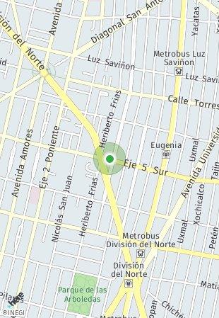 Peta lokasi Eugenia 1112