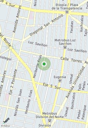 Peta lokasi Enrique Rebsámen