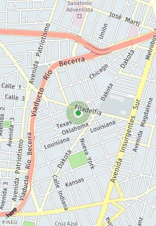 Peta lokasi Arizona 161