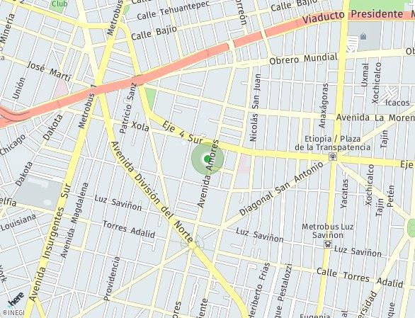 Peta lokasi Amores 219