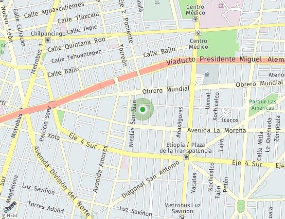 Peta lokasi Sanchez Azcona 209