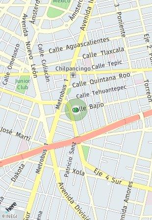 Peta lokasi Casa Roma 315