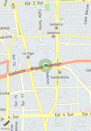 Peta lokasi Viaducto 154