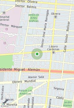 Peta lokasi Punta Morones Prieto 60