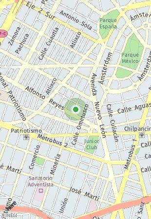 Peta lokasi Saltillo 70