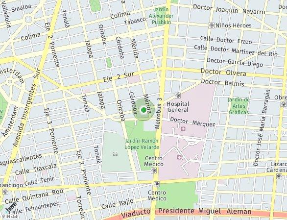 Peta lokasi Único Roma