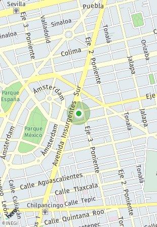 Peta lokasi Querétaro 240