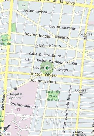 Peta lokasi Dr. J. Terres 52