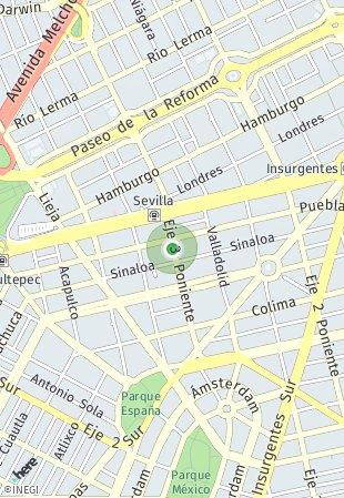 Peta lokasi Distrito Salamanca 31
