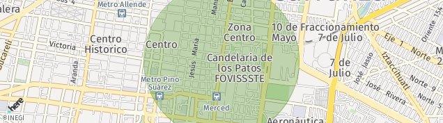 Map of Centro (Área 2)