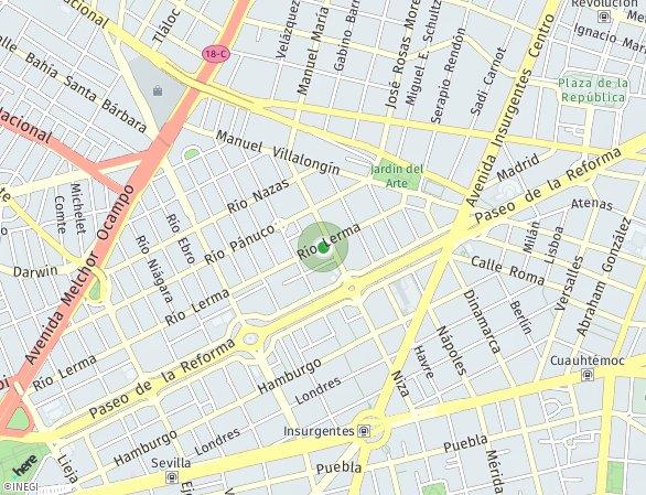 Peta lokasi RIO LERMA 60