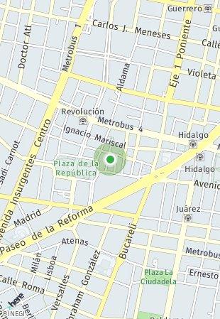 Peta lokasi Ramón Alcázar 20