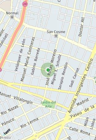 Peta lokasi Guillermo Prieto