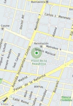 Peta lokasi Tomas Alva Edison 101